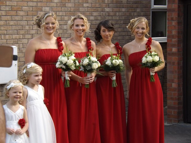 Bridesmaid Dresses Off the Peg